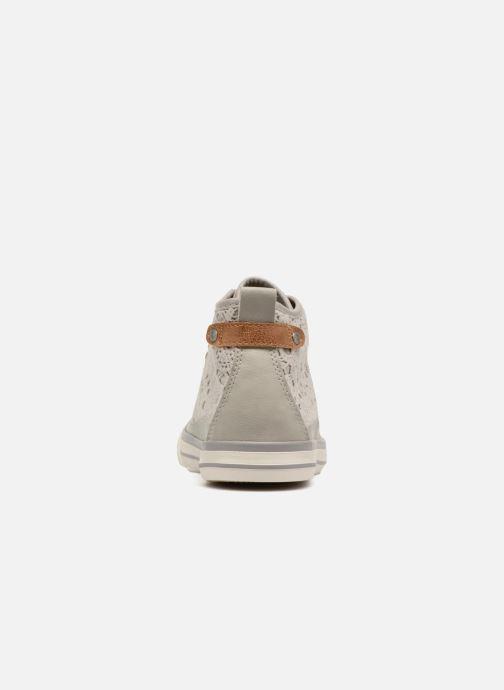 Baskets Mustang shoes Nola 1146507 Gris vue droite