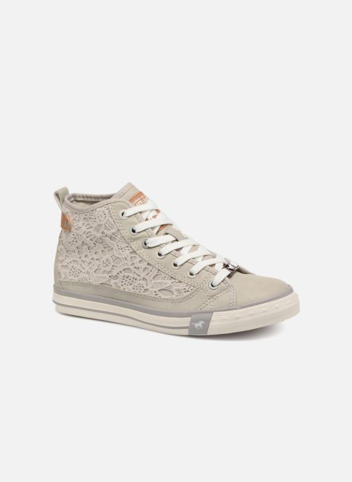 Baskets Mustang shoes Nola 1146507 Gris vue détail/paire