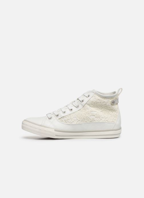 Baskets Mustang shoes Nola 1146507 Blanc vue face