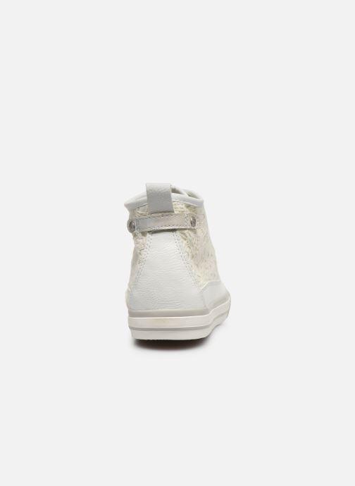 Baskets Mustang shoes Nola 1146507 Blanc vue droite