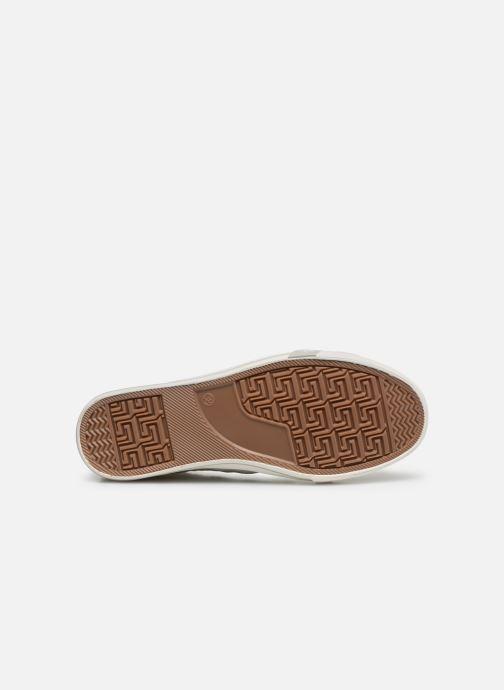 Baskets Mustang shoes Nola 1146507 Blanc vue haut