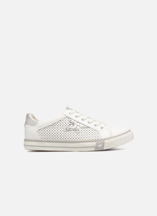 Baskets Mustang shoes Baroni Blanc vue derrière