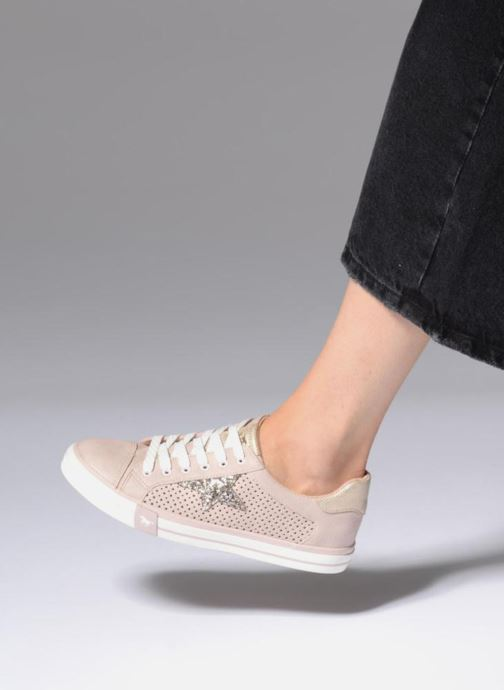 Sneakers Mustang shoes Baroni Rosa immagine dal basso