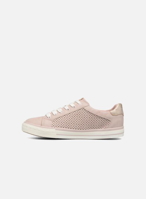 Baskets Mustang shoes Baroni Rose vue face