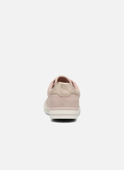 Baskets Mustang shoes Baroni Rose vue droite