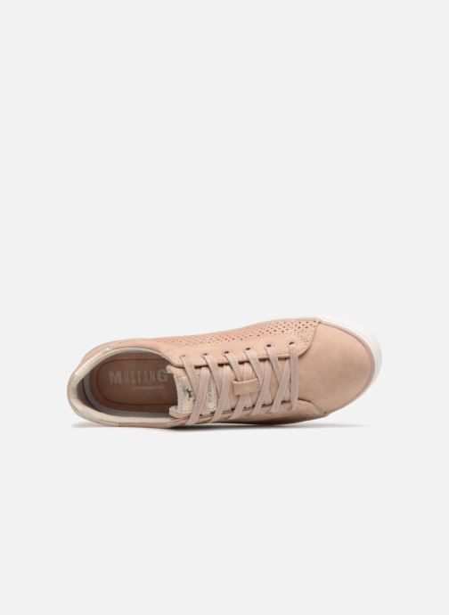 Baskets Mustang shoes Argia Rose vue gauche
