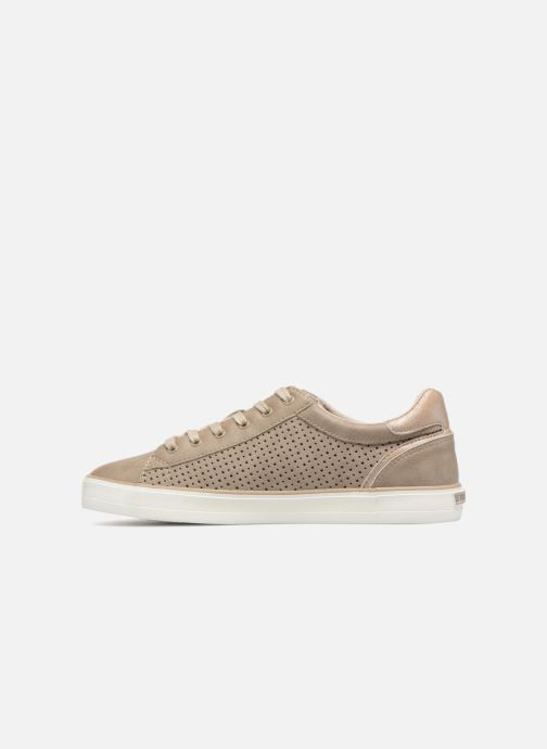 Baskets Mustang shoes Argia Beige vue face