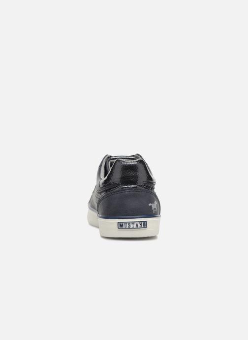Sneakers Mustang shoes Argia Blauw rechts