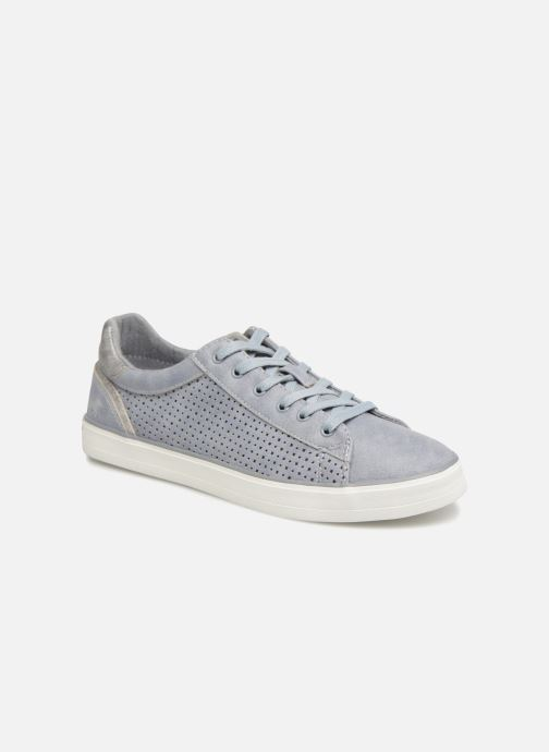 Trainers Mustang shoes Argia Blue detailed view/ Pair view