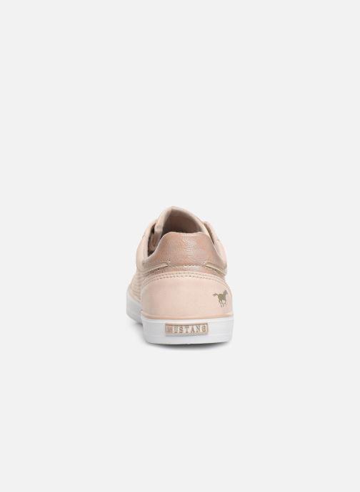 Baskets Mustang shoes Argia Beige vue droite