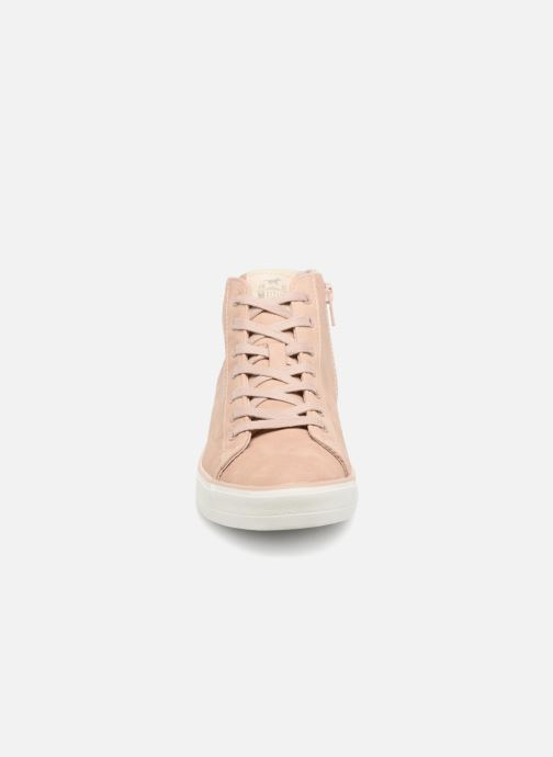 Sneakers Mustang shoes Arkhas Rosa modello indossato