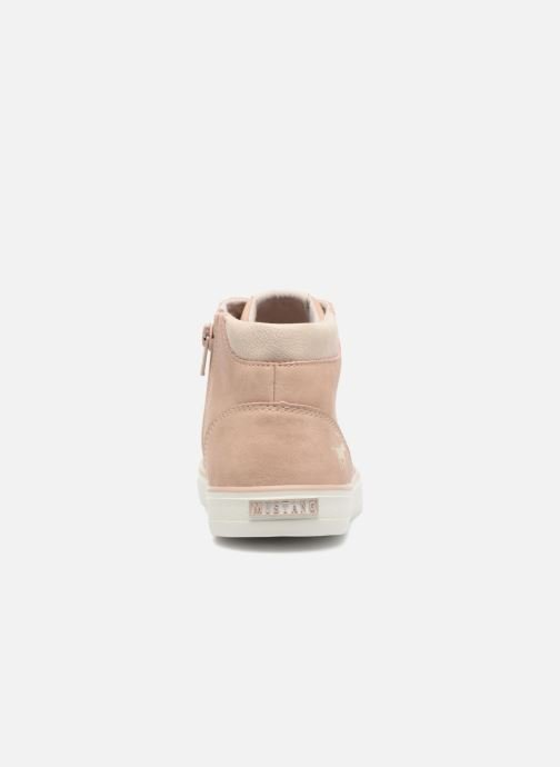 Trainers Mustang shoes Arkhas Pink view from the right