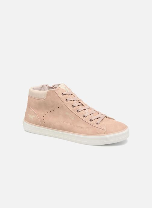 Trainers Mustang shoes Arkhas Pink detailed view/ Pair view