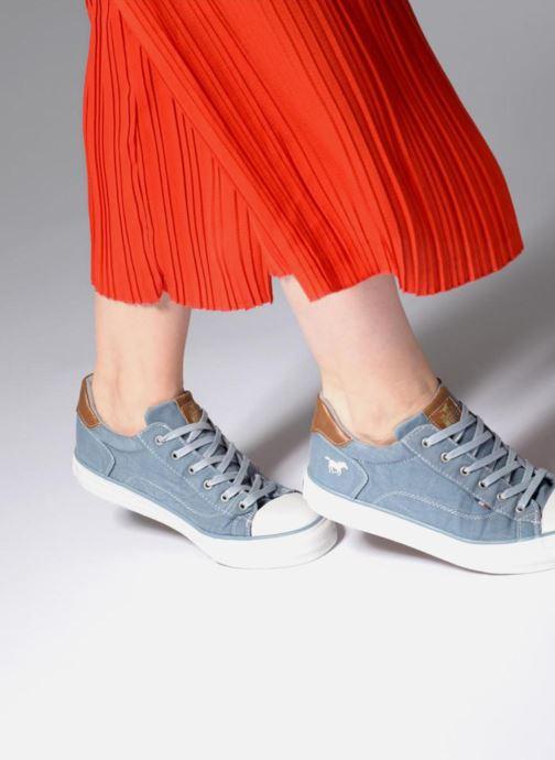 Sneakers Mustang shoes Fanchi Blauw onder