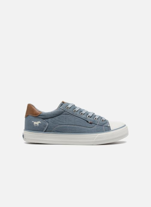 Sneakers Mustang shoes Fanchi Azzurro immagine posteriore