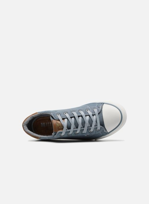 Sneakers Mustang shoes Fanchi Azzurro immagine sinistra