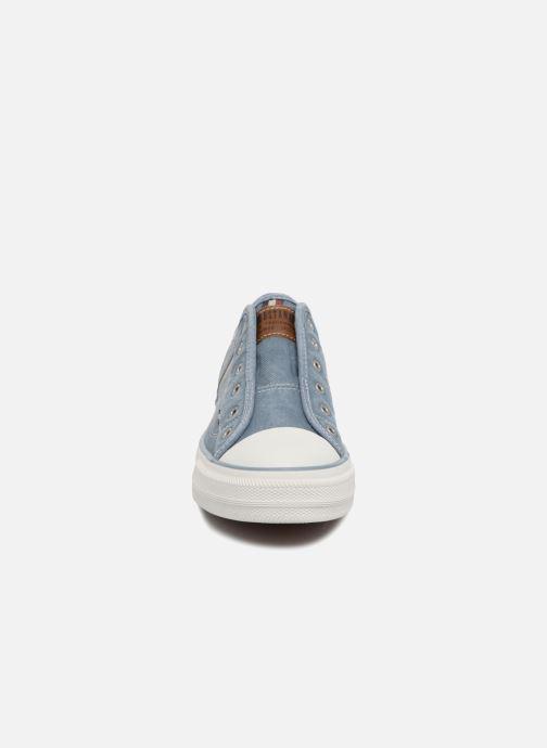 Baskets Mustang shoes Bramanda Bleu vue portées chaussures