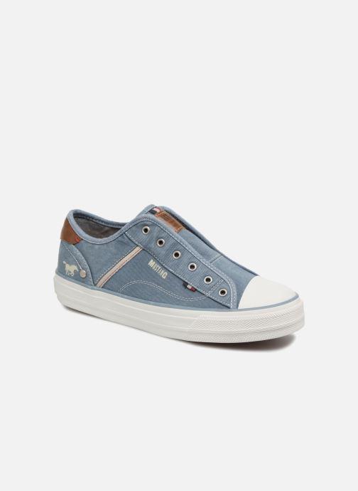 Baskets Mustang shoes Bramanda Bleu vue détail/paire