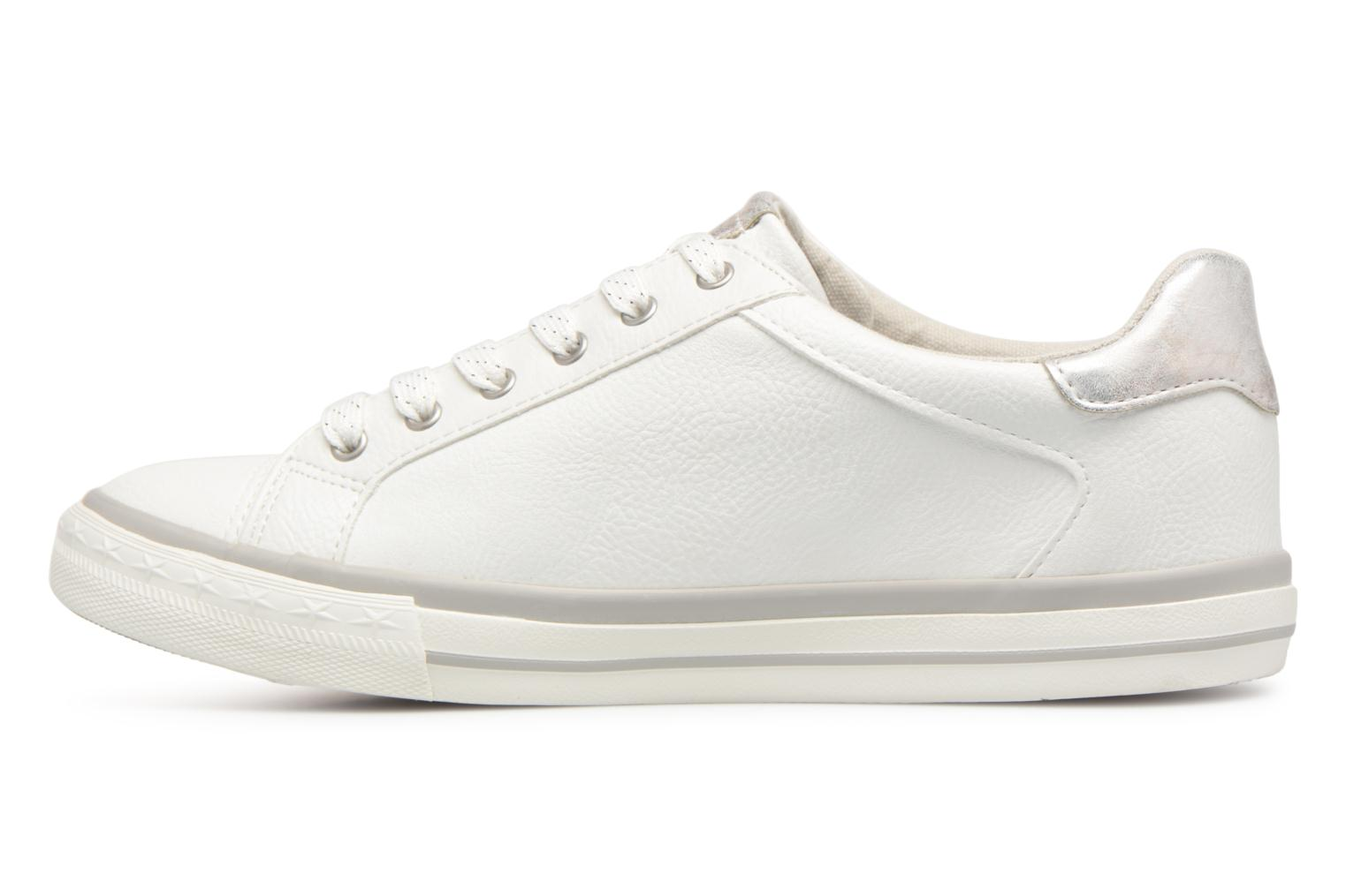 Baskets Mustang shoes Willoti Blanc vue face