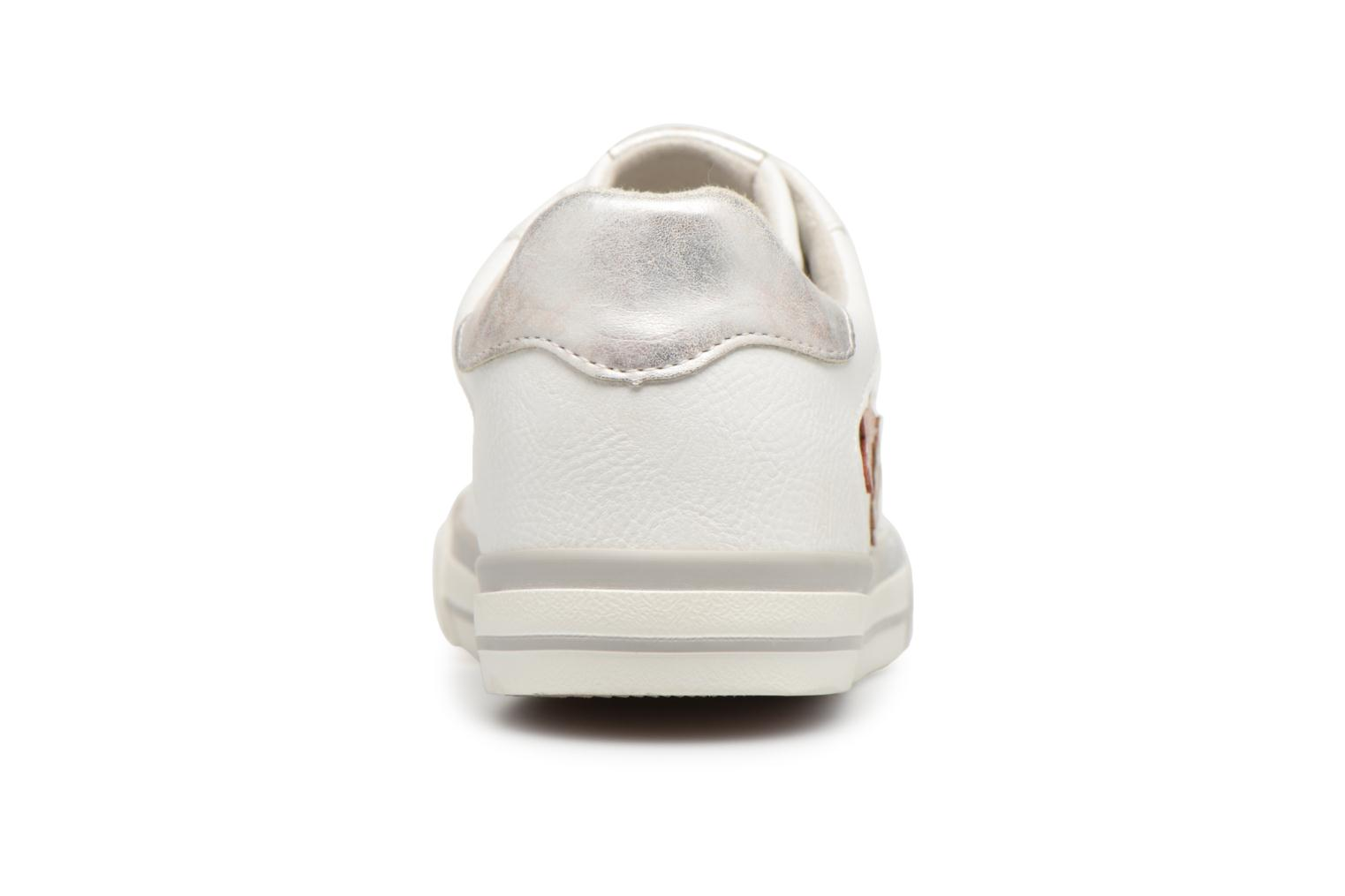 Baskets Mustang shoes Willoti Blanc vue droite