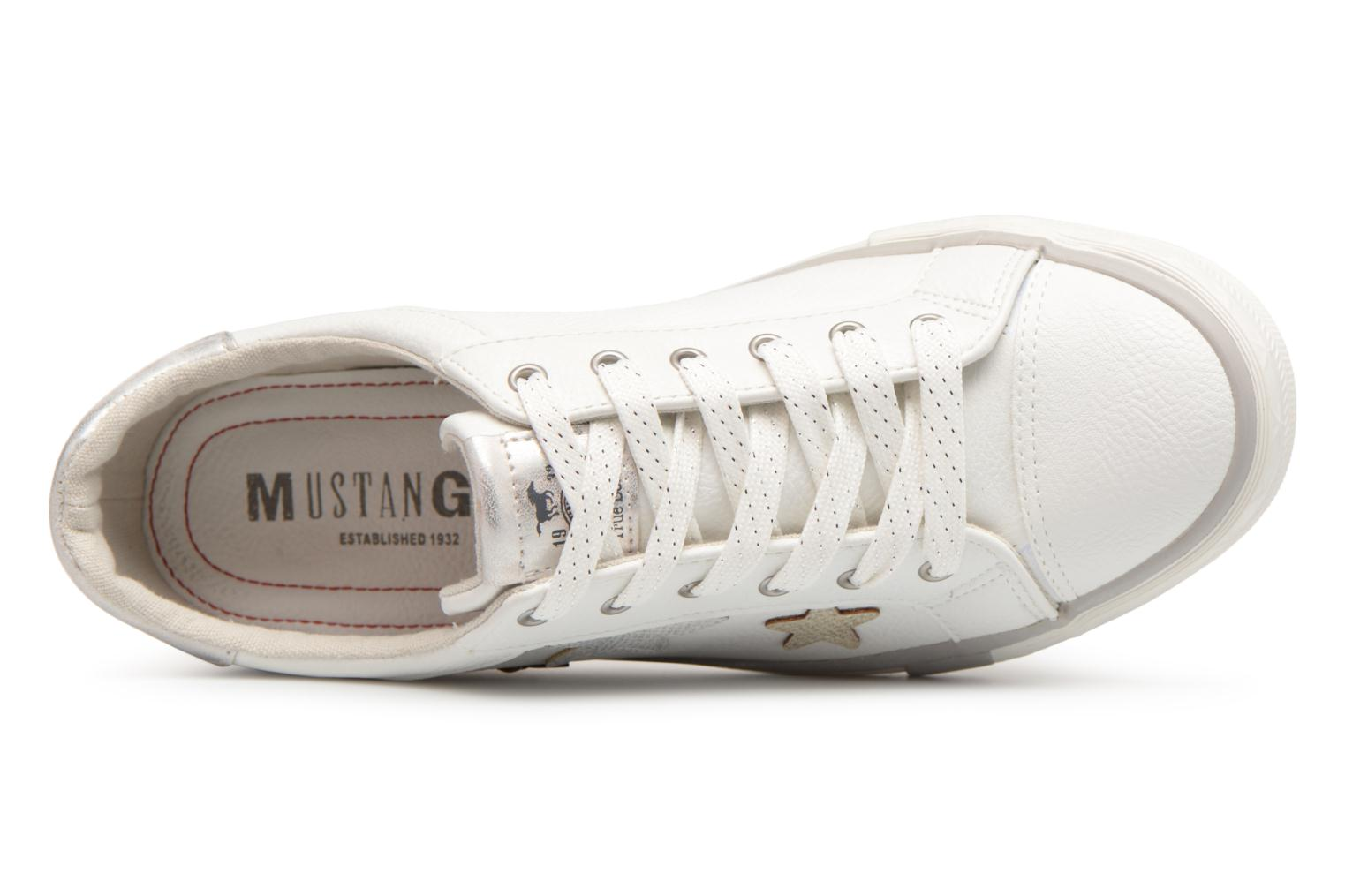 Baskets Mustang shoes Willoti Blanc vue gauche
