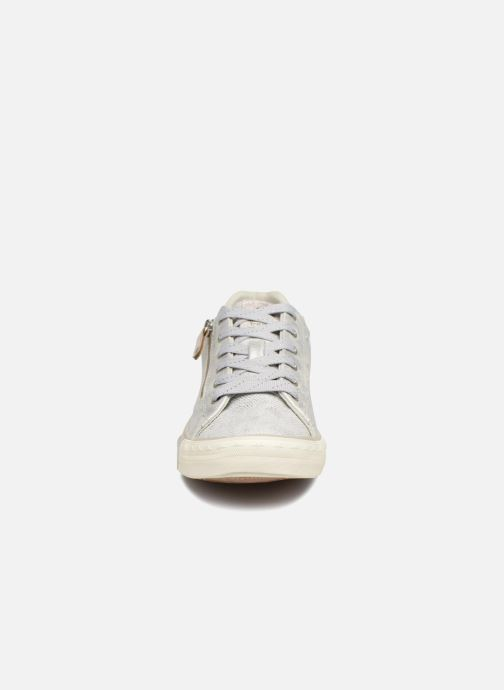 Baskets Mustang shoes Nalimo Argent vue portées chaussures