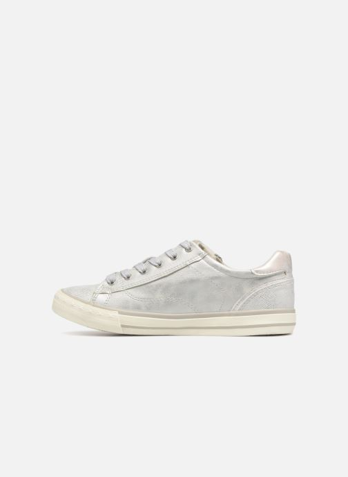 Baskets Mustang shoes Nalimo Argent vue face