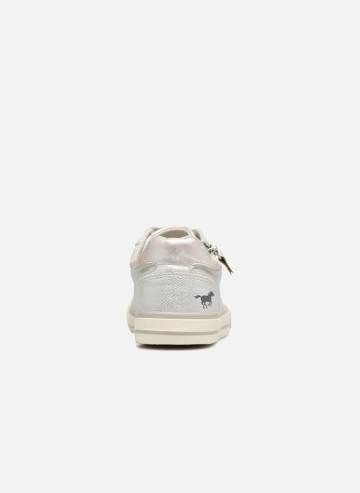 Baskets Mustang shoes Nalimo Argent vue droite