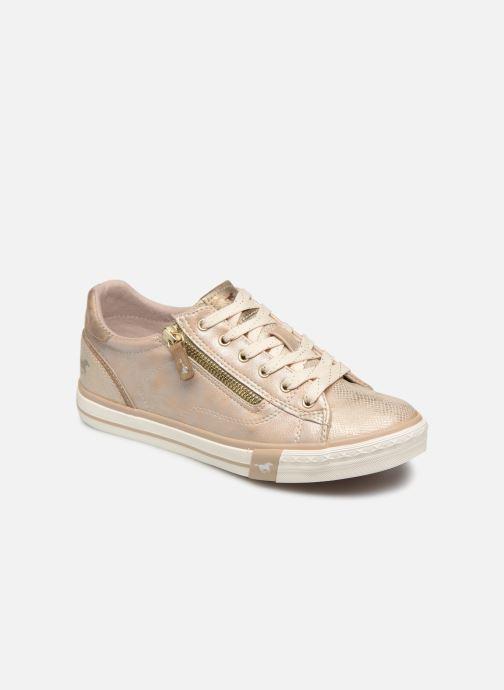 Baskets Mustang shoes Nalimo Or et bronze vue détail/paire