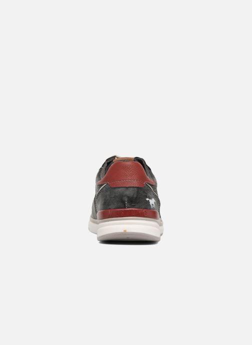 Sneakers Mustang shoes Clago Azzurro immagine destra