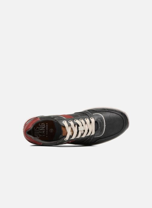 Sneakers Mustang shoes Clago Azzurro immagine sinistra
