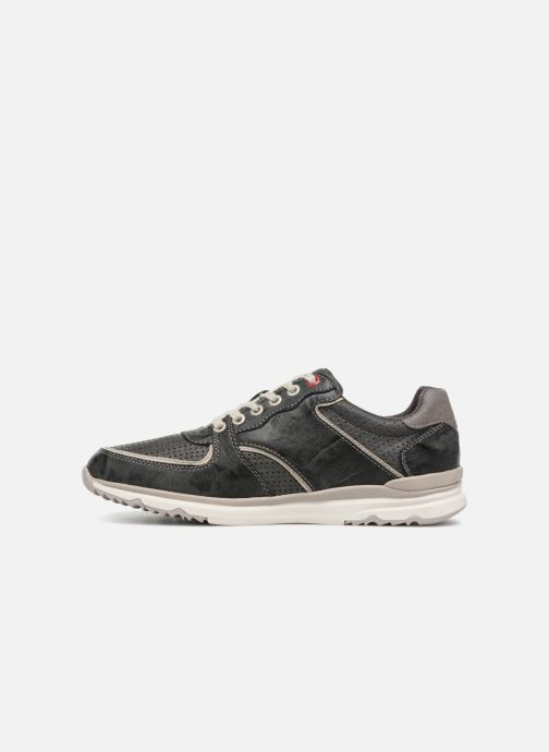 Sneakers Mustang shoes Vlois Grigio immagine frontale