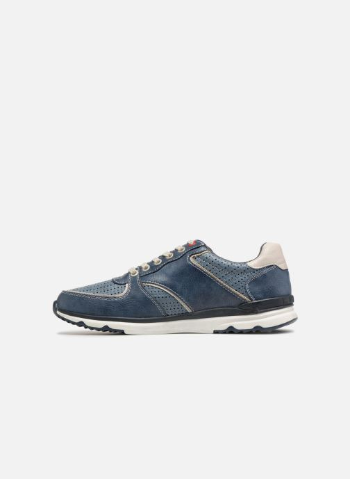 Sneakers Mustang shoes Vlois Azzurro immagine frontale