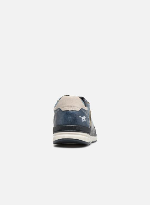 Sneakers Mustang shoes Vlois Azzurro immagine destra