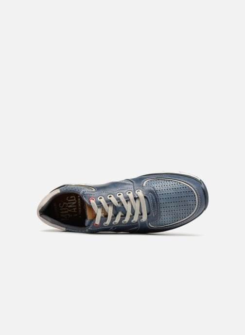 Sneakers Mustang shoes Vlois Azzurro immagine sinistra