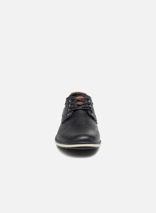 Chaussures à lacets Mustang shoes Pasou Bleu vue portées chaussures