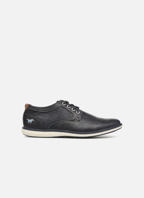 Chaussures à lacets Mustang shoes Pasou Bleu vue derrière
