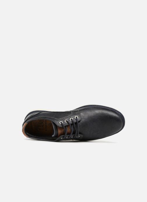 Chaussures à lacets Mustang shoes Pasou Bleu vue gauche