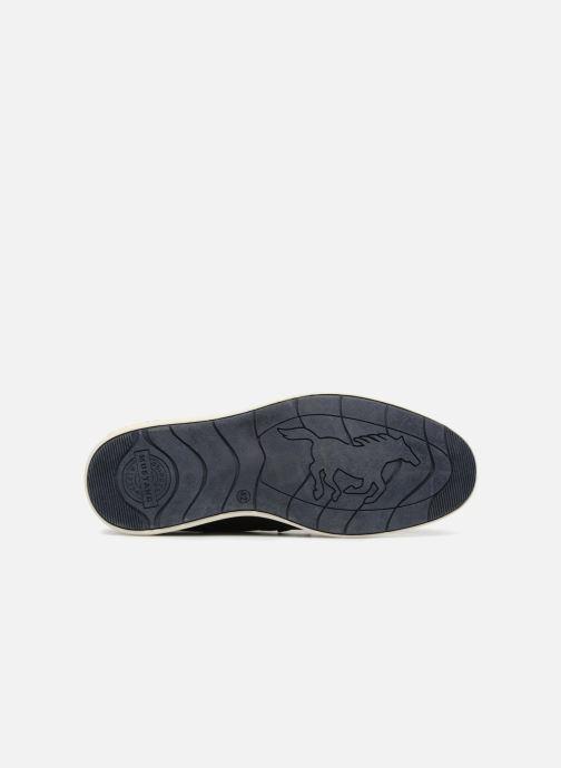 Chaussures à lacets Mustang shoes Pasou Bleu vue haut