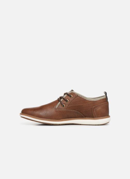 Chaussures à lacets Mustang shoes Pasou Marron vue face