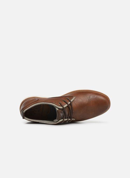 Scarpe con lacci Mustang shoes Pasou Marrone immagine sinistra