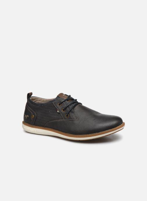 Chaussures à lacets Mustang shoes Pasou Gris vue détail/paire