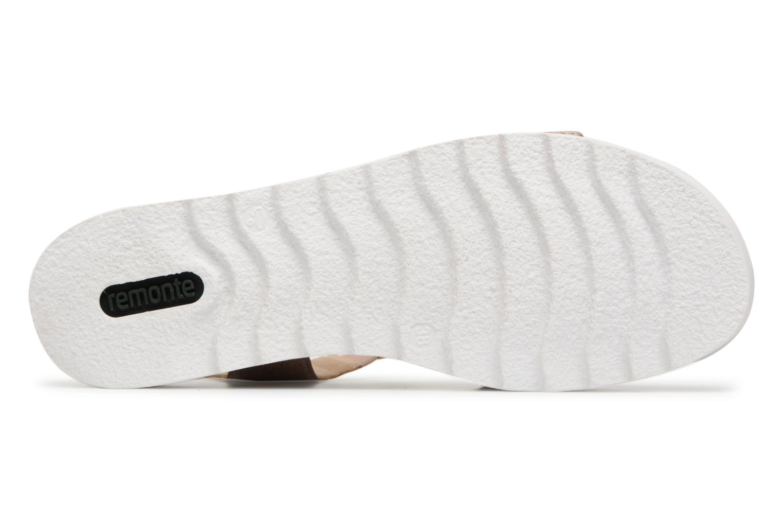 Sandales et nu-pieds Remonte Sophia D1151 Beige vue haut