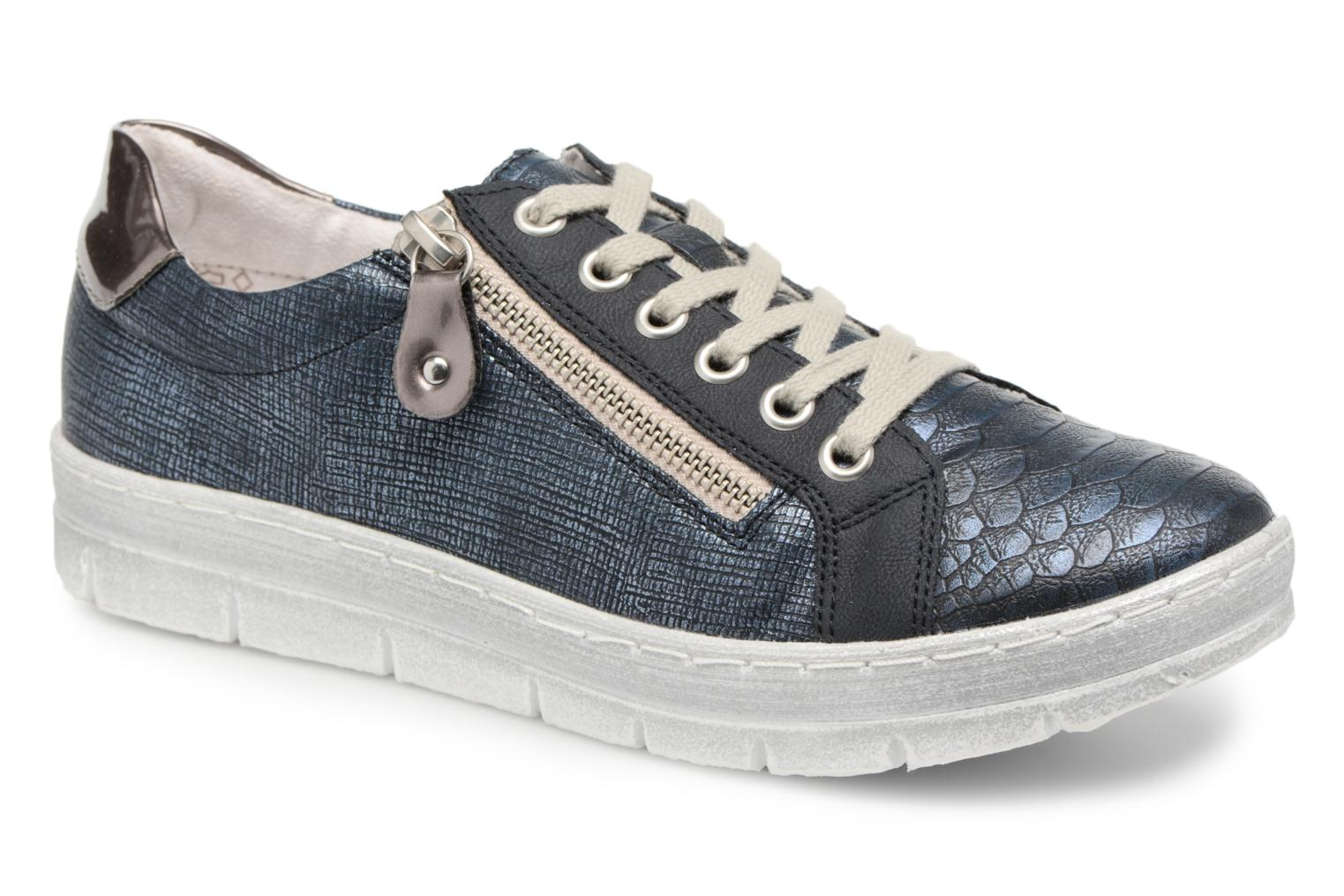 Trainers Remonte Hale D5810 Blue detailed view/ Pair view