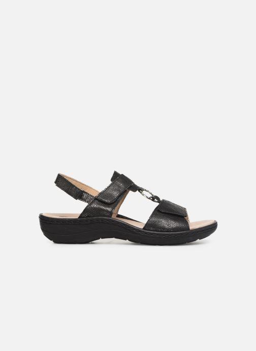 Sandales et nu-pieds Remonte Maci Noir vue derrière