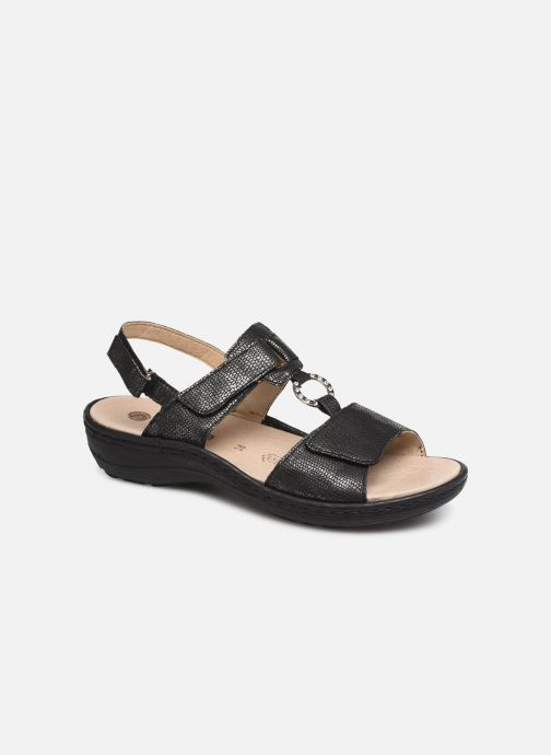 Sandals Remonte Maci Black detailed view/ Pair view