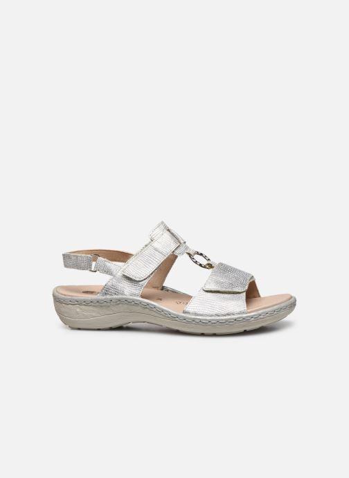 Sandales et nu-pieds Remonte Maci Argent vue derrière