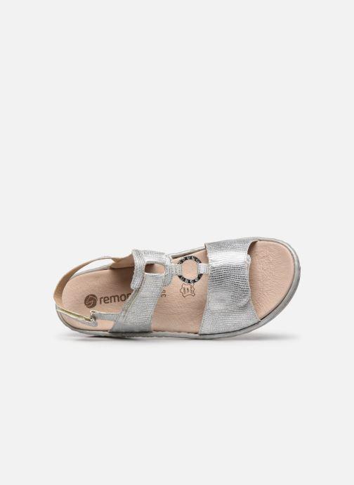 Sandales et nu-pieds Remonte Maci Argent vue gauche