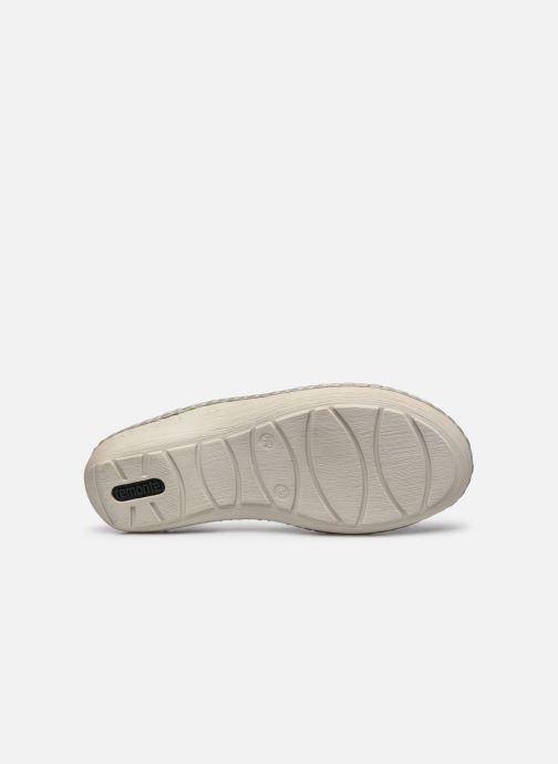 Sandales et nu-pieds Remonte Maci Argent vue haut