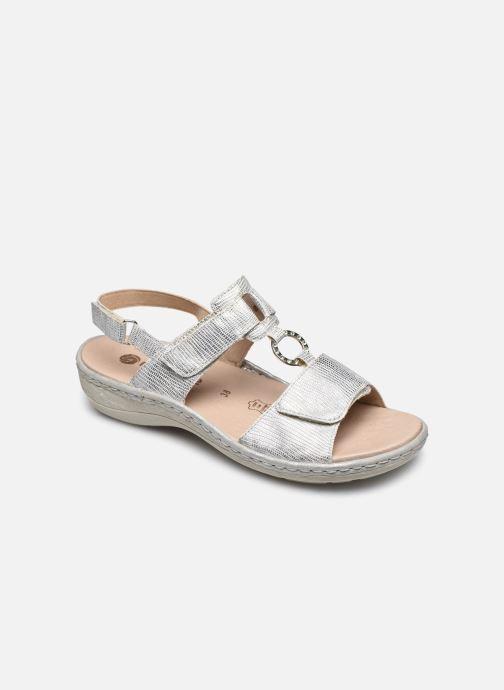 Sandales et nu-pieds Remonte Maci Argent vue détail/paire